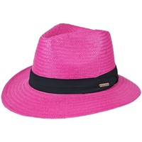 Accessoires textile Chapeaux Chapeau-Tendance Chapeau style panama WILL Rose fushia