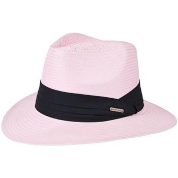 Accessoires textile Homme Chapeaux Chapeau-Tendance Chapeau style panama WILL Rose pale