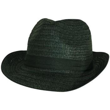 Accessoires textile Homme Chapeaux Chapeau-Tendance Chapeau trilby uni LIAM Noir
