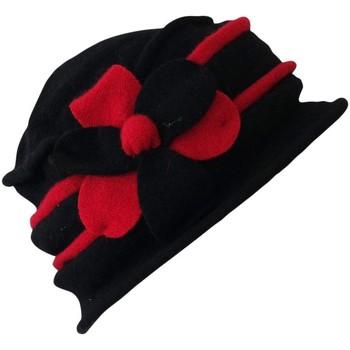 Accessoires textile Femme Chapeaux Chapeau-Tendance Chapeau cloche laine YOKO Rouge