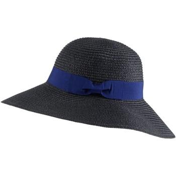 Accessoires textile Femme Chapeaux Chapeau-Tendance Mini capeline ROXANE Noir