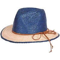 Accessoires textile Homme Chapeaux Chapeau-Tendance Chapeau borsalino MATY Bleu