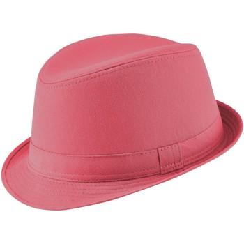 Accessoires textile Femme Chapeaux Chapeau-Tendance Chapeau trilby SABER Rose