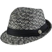 Accessoires textile Femme Chapeaux Chapeau-Tendance Chapeau trilby GRANOTA Noir