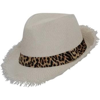 Accessoires textile Homme Chapeaux Chapeau-Tendance Chapeau trilby GASPARD Blanc
