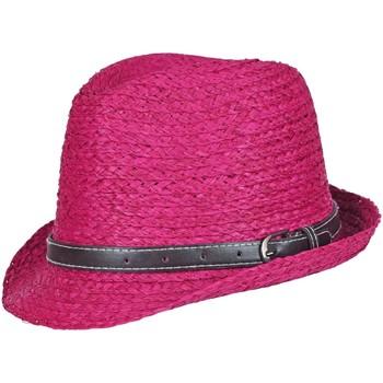 Accessoires textile Femme Chapeaux Chapeau-Tendance Chapeau trilby YVED Rose fushia