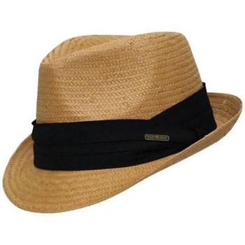 Accessoires textile Homme Chapeaux Chapeau-Tendance Trilby style panama Camel