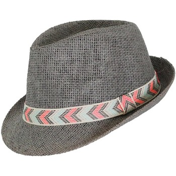 Accessoires textile Homme Chapeaux Chapeau-Tendance Trilby bandeau MEXICAS Gris