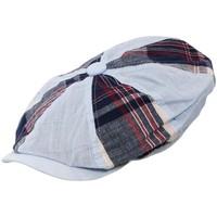 Accessoires textile Homme Casquettes Chapeau-Tendance Casquette gavroche MIKE Bleu/rouge