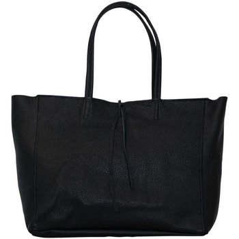 Sacs Femme Cabas / Sacs shopping Chapeau-Tendance Sac cabas cuir SMART Noir