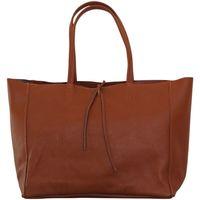 Sacs Femme Cabas / Sacs shopping Chapeau-Tendance Sac cabas cuir SMART Camel