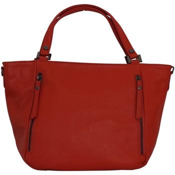 Sacs Femme Cabas / Sacs shopping Chapeau-Tendance Sac à main cuir italien MELANIA Orange
