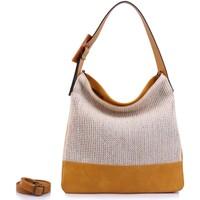Sacs Femme Cabas / Sacs shopping Chapeau-Tendance Sac cabas SASHA Jaune