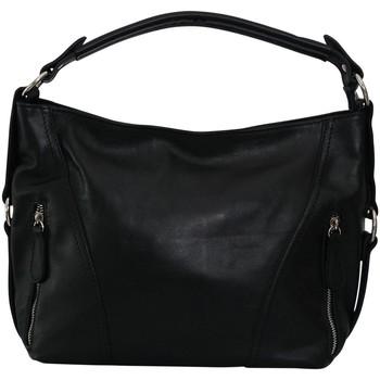 Sacs Femme Sacs porté épaule Chapeau-Tendance Sac à main cuir SWEETY Noir