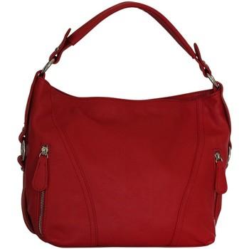 Sacs Femme Sacs porté épaule Chapeau-Tendance Sac à main cuir SWEETY Rouge