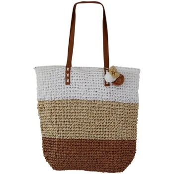 Sacs Femme Cabas / Sacs shopping Chapeau-Tendance Grand sac cabas plage ALDINA Camel
