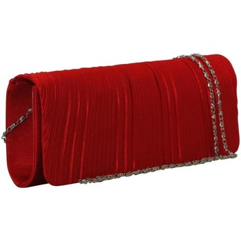 Sacs Femme Pochettes / Sacoches Chapeau-Tendance Pochette de soirée GLORIA Rouge