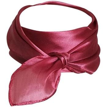 Accessoires textile Femme Echarpes / Etoles / Foulards Chapeau-Tendance Foulard polysatin uni Vieux rose