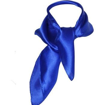Accessoires textile Femme Echarpes / Etoles / Foulards Chapeau-Tendance Foulard polysatin uni Bleu France