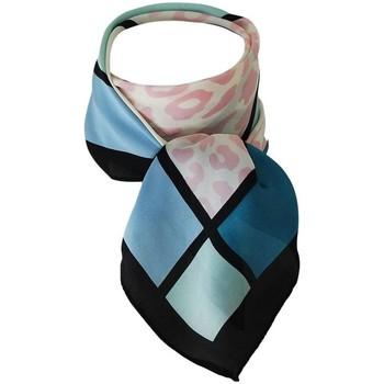 Accessoires textile Femme Echarpes / Etoles / Foulards Chapeau-Tendance Foulard polysatin LOULA Bleu