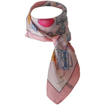 Accessoires textile Femme Echarpes / Etoles / Foulards Chapeau-Tendance Foulard polysatin BOJANA Rose