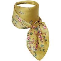 Accessoires textile Femme Echarpes / Etoles / Foulards Chapeau-Tendance Foulard polysatin BRANA Jaune