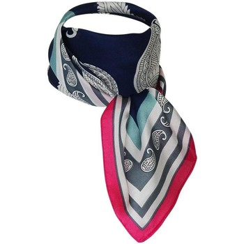 Accessoires textile Femme Echarpes / Etoles / Foulards Chapeau-Tendance Foulard polysatin BRANKA Marine