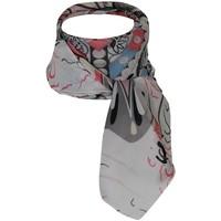 Accessoires textile Femme Echarpes / Etoles / Foulards Chapeau-Tendance Foulard polysatin INCA Blanc