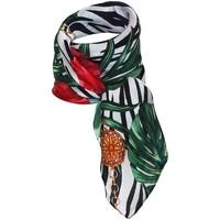 Accessoires textile Femme Echarpes / Etoles / Foulards Chapeau-Tendance Foulard polysatin HIBISCUS Vert