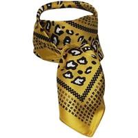 Accessoires textile Femme Echarpes / Etoles / Foulards Chapeau-Tendance Foulard polysatin ZOILA Moutarde