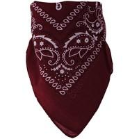 Accessoires textile Echarpes / Etoles / Foulards Chapeau-Tendance Bandana uni coton Bordeaux