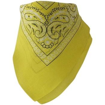 Accessoires textile Echarpes / Etoles / Foulards Chapeau-Tendance Bandana uni coton Jaune