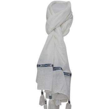 Accessoires textile Echarpes / Etoles / Foulards Chapeau-Tendance Grand foulard PELAGIE Beige