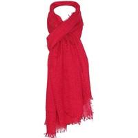 Accessoires textile Femme Echarpes / Etoles / Foulards Chapeau-Tendance Cheche froissé uni Rose fushia