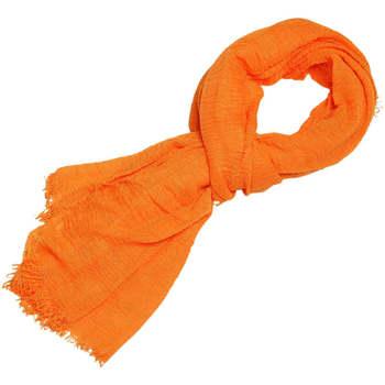 Accessoires textile Femme Echarpes / Etoles / Foulards Chapeau-Tendance Cheche froissé uni Orange