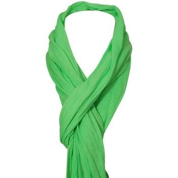 Accessoires textile Femme Echarpes / Etoles / Foulards Chapeau-Tendance Cheche froissé uni Vert pomme