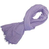Accessoires textile Femme Echarpes / Etoles / Foulards Chapeau-Tendance Cheche froissé uni Violet