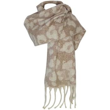 Accessoires textile Femme Echarpes / Etoles / Foulards Chapeau-Tendance Grosse écharpe laine JANIKA Beige