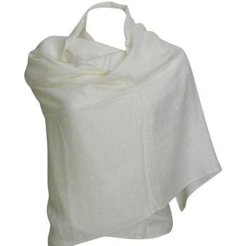 Accessoires textile Femme Echarpes / Etoles / Foulards Chapeau-Tendance Grosse écharpe châle MYALI Blanc