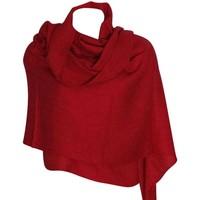 Accessoires textile Femme Echarpes / Etoles / Foulards Chapeau-Tendance Grosse écharpe châle MYALI Rouge