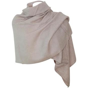 Accessoires textile Femme Echarpes / Etoles / Foulards Chapeau-Tendance Grosse écharpe châle MYALI Beige