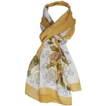 Accessoires textile Femme Echarpes / Etoles / Foulards Chapeau-Tendance Mousseline floral IVANKA Marron