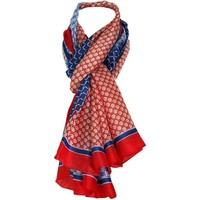 Accessoires textile Femme Echarpes / Etoles / Foulards Chapeau-Tendance Foulard soie Gérard Pasquier AZIZA Rouge