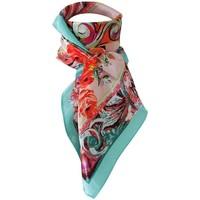 Accessoires textile Femme Echarpes / Etoles / Foulards Chapeau-Tendance Grand foulard polysatin INAYA Vert