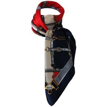 Accessoires textile Femme Echarpes / Etoles / Foulards Chapeau-Tendance Grand foulard polysatin cavalier Rouge