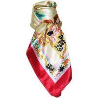 Accessoires textile Femme Echarpes / Etoles / Foulards Chapeau-Tendance Foulard polysatin AMAL Rouge