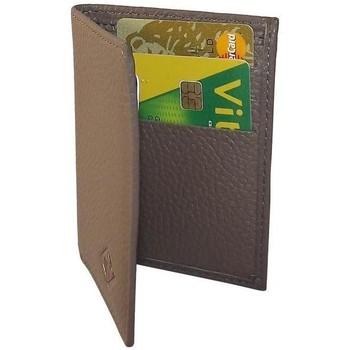 Sacs Portefeuilles Chapeau-Tendance Portefeuille format carte de crédit  ALEY Taupe