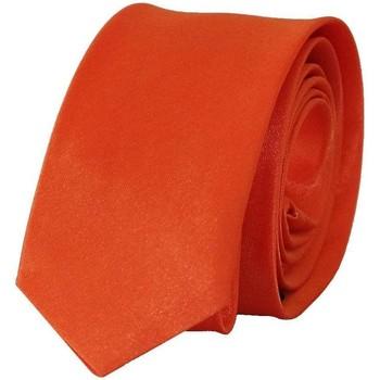 Vêtements Homme Cravates et accessoires Chapeau-Tendance Cravate unie slim Orange