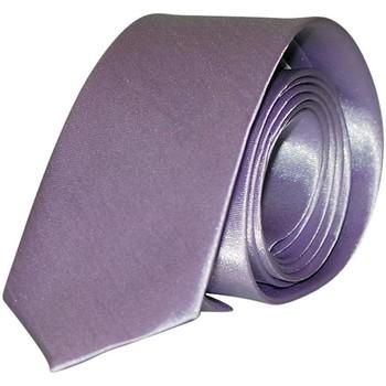 Vêtements Homme Cravates et accessoires Chapeau-Tendance Cravate unie slim Parme