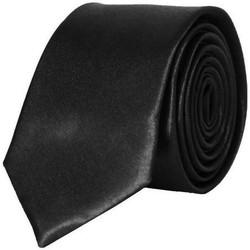 Vêtements Homme Cravates et accessoires Chapeau-Tendance Cravate unie slim Noir